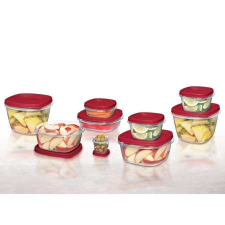 Rubbermaid Food Storage Containers with Easy Find Lids, 24-Piece - Find Adult Stores