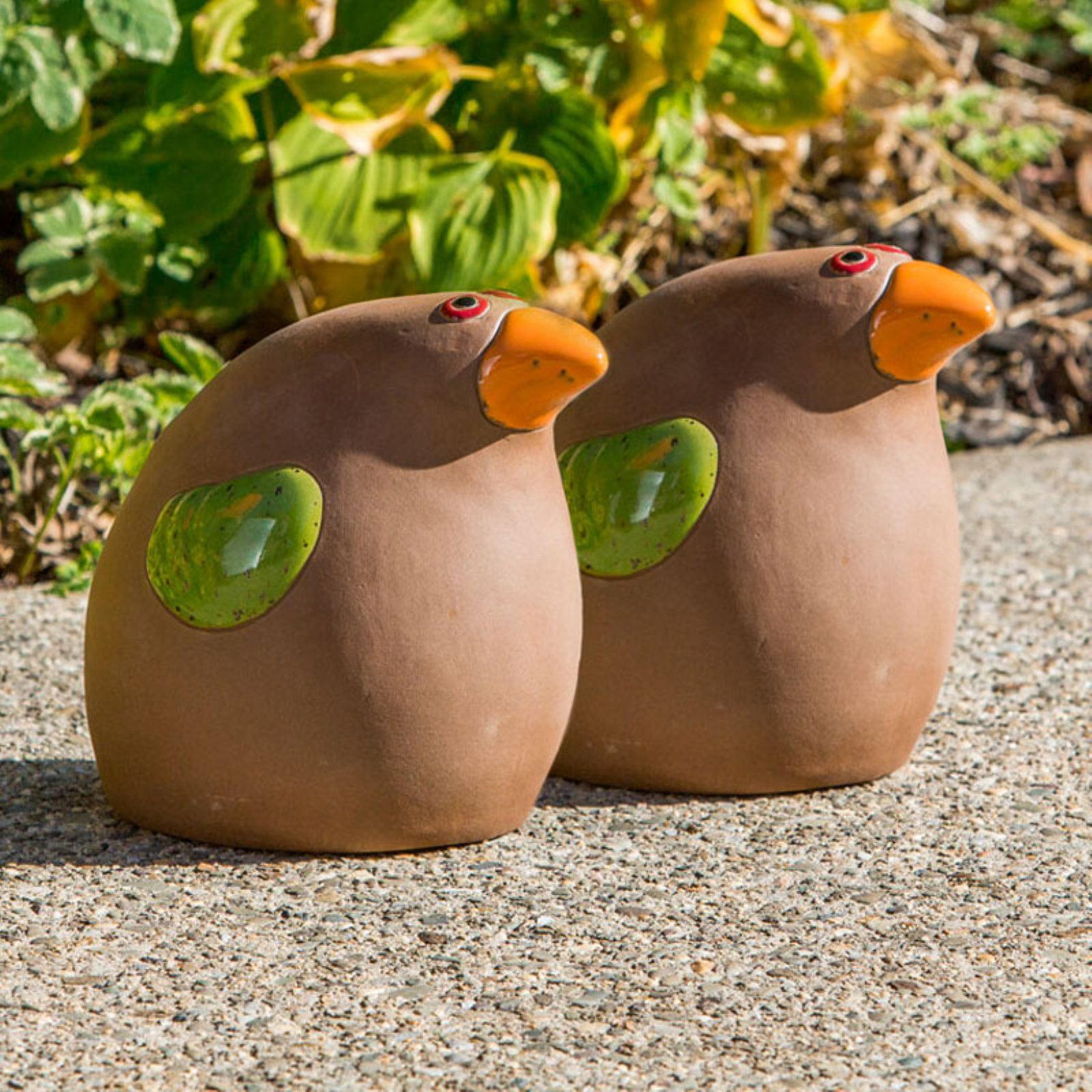 Alfresco Home Ceramic Toucan Garden Statue