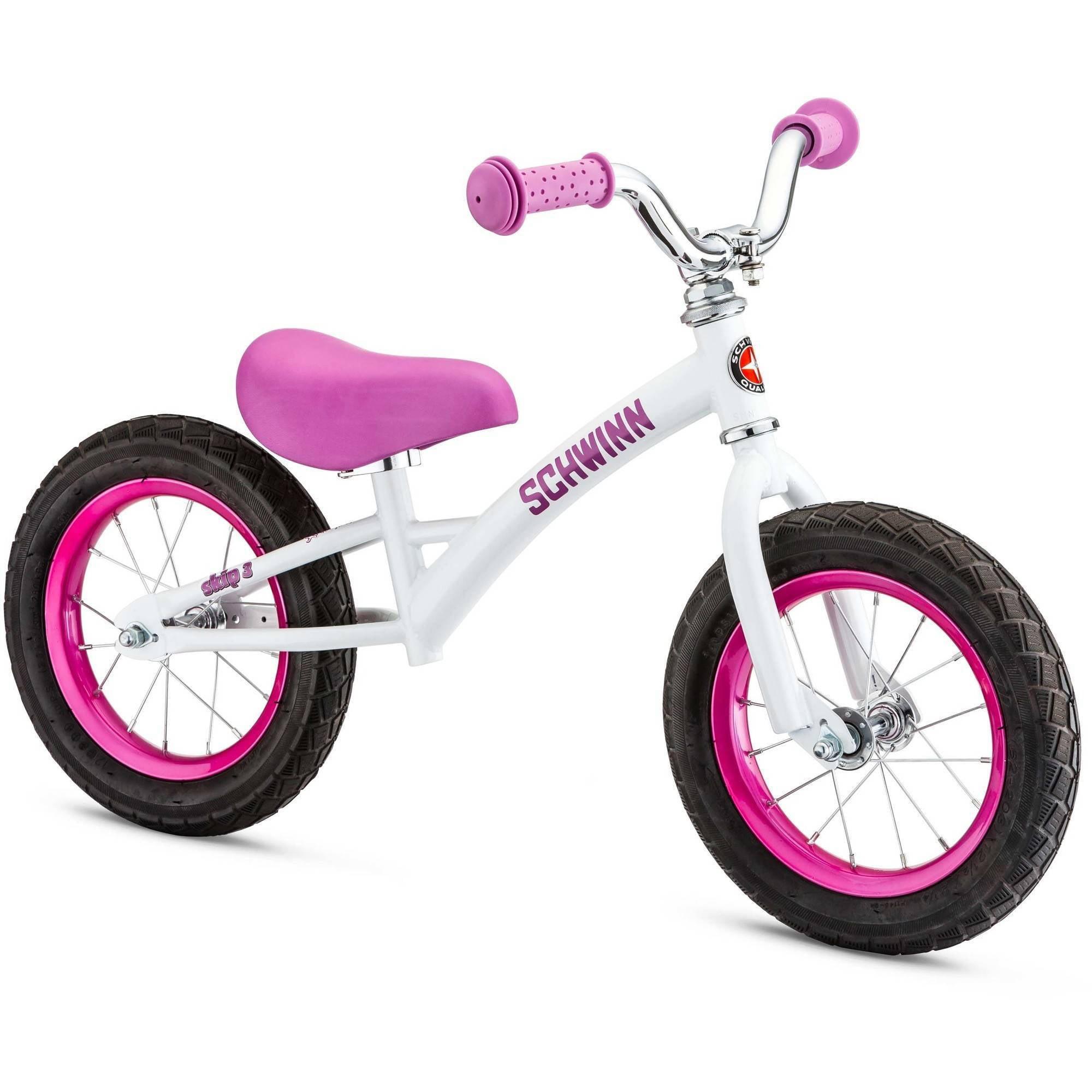 Bicicleta Para Niño(A) Schwinn Skip 3 Balance Bike, blanco + Schwinn en Veo y Compro