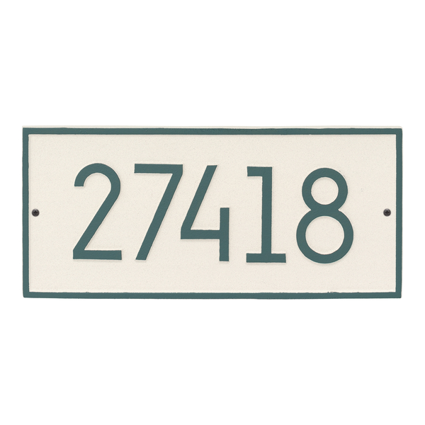 Hartford Modern Personalized Vertical Wall Plaque