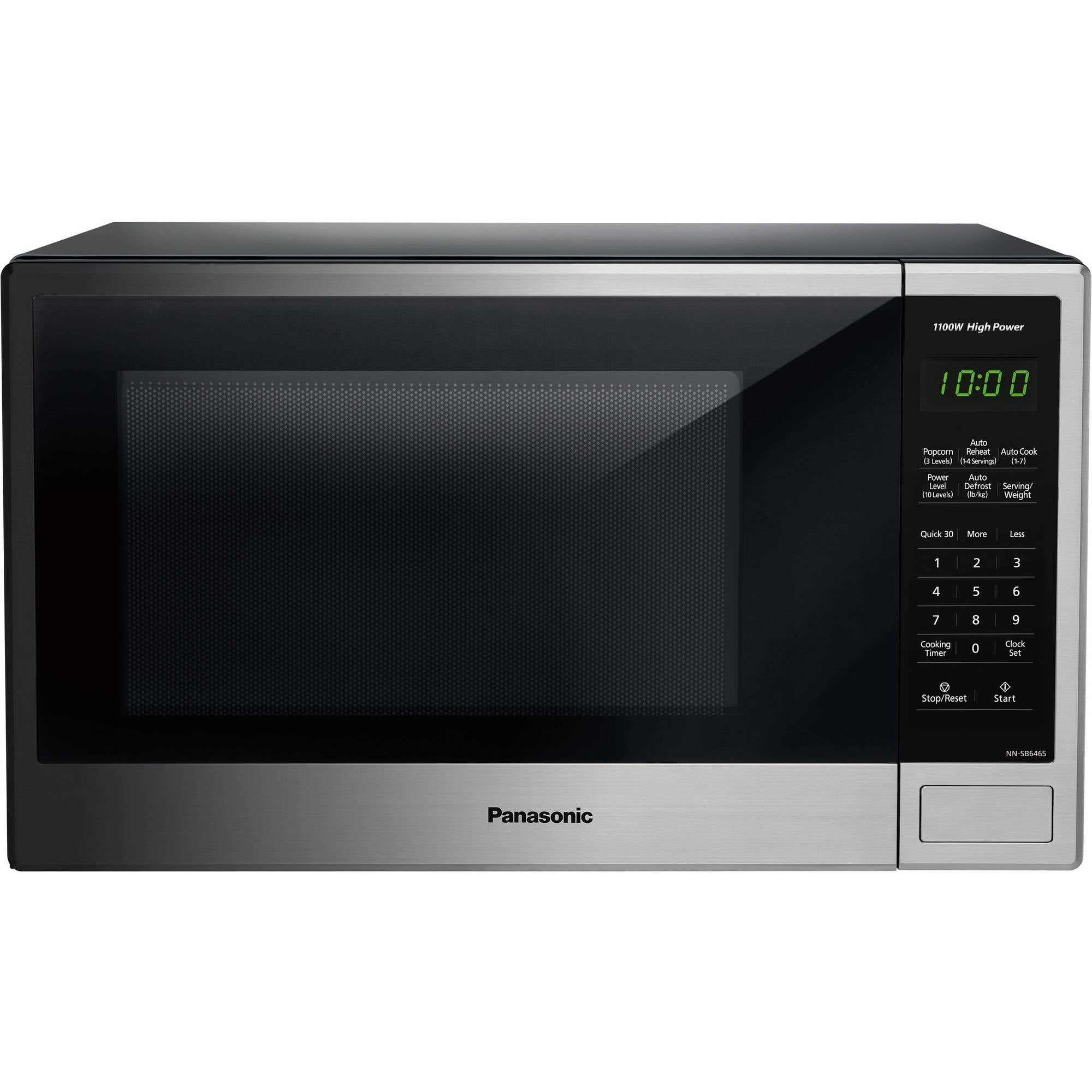 Panasonic 1 3 Cu Ft 1100w Countertop Stainless Steel