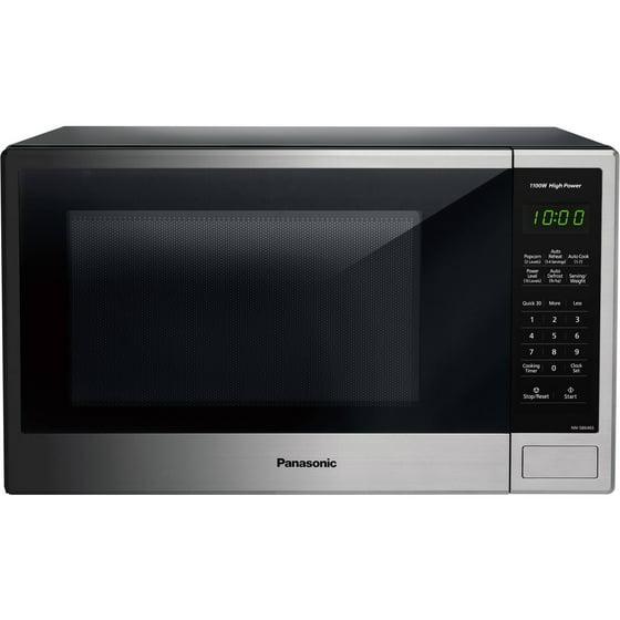 Walmart Microwave Ovens ~ Panasonic cu ft microwave oven stainless walmart