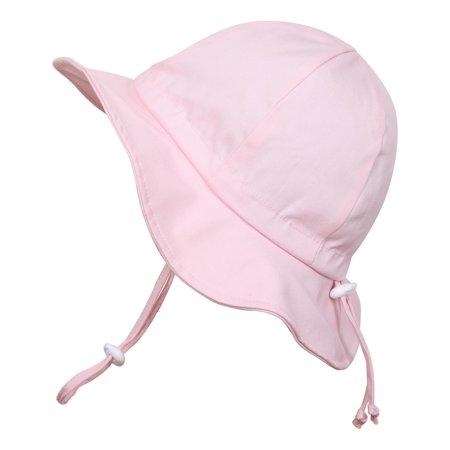 c06c132d Twinklebelle - Toddler Sun Hat, Size Adjustable, 50+ UPF Cotton(M: 6m - 3Y,  Pink) - Walmart.com