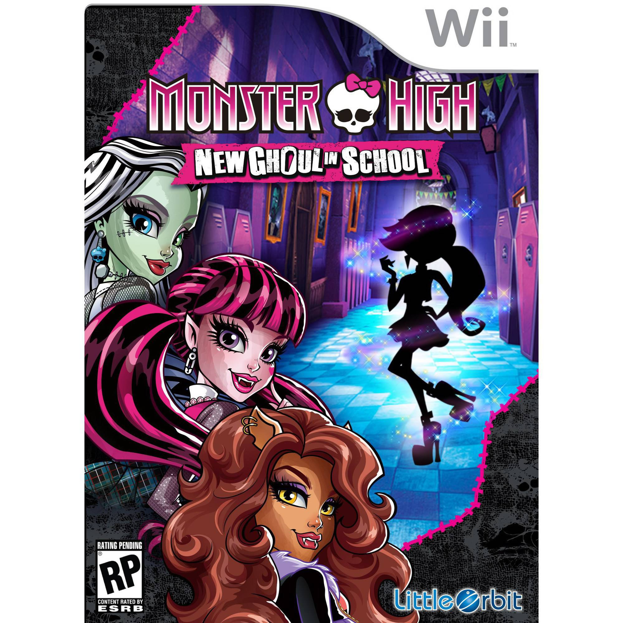 Monster High New Ghoul In School(Wii)