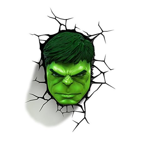 3d light fx marvel hulk 3d deco led wall light walmart 3d light fx marvel hulk 3d deco led wall light aloadofball