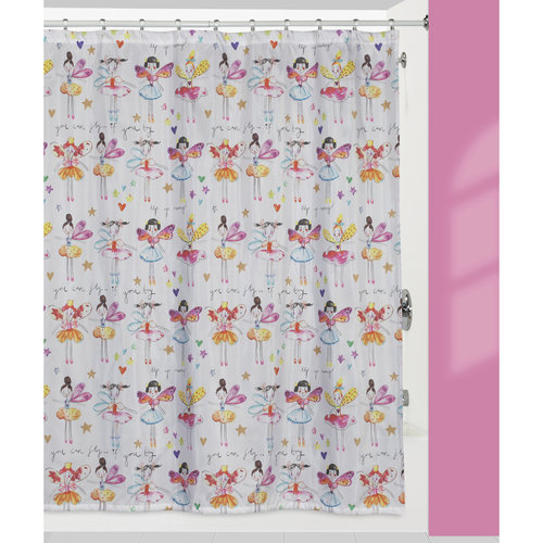 Creative Bath Faerie Princesses Shower Curtain