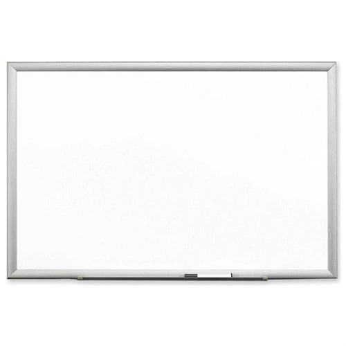 "3m Premium Porcelain Dry Erase Board 96"" Width X 48"" Height White Porcelain Surface Aluminum Frame... by Encore"
