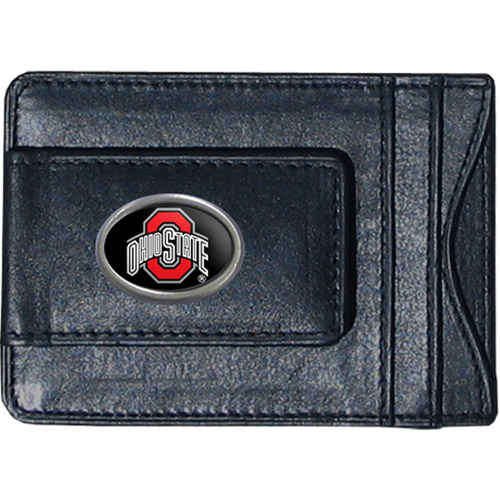 NCAA -  Money Clip and Cardholder, Ohio State Buckeyes