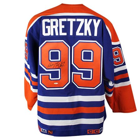 new product 40118 32c0a Steiner Sports GRETJES000049 Wayne Gretzky Signed Authentic Edmonton Oilers  Jersey - UDA