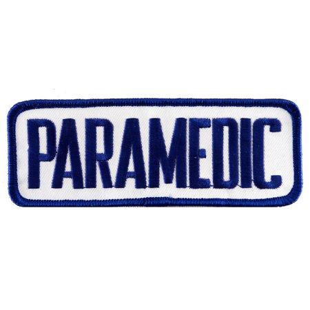 Emt Uniform - Paramedic Shoulder EMT Uniform Iron-on Embroidered Patch