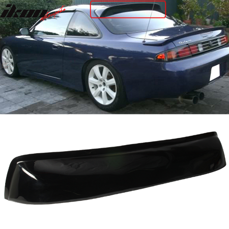 Fits 95-98 Nissan 240SX S14 Coupe 2Dr Rear Roof Window Visor Spoiler Shade (Nissan Altima Coupe Rear Spoiler)