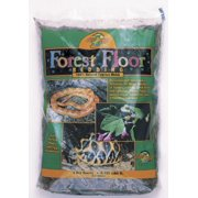 Zoo Med CM-4 Black and Gray Forest Floor Bedding, 4 qt