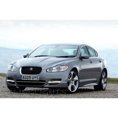 2008 2009 2010 2011 2012 Jaguar XF LED DRL Light Strips Day Time Running Lights Strip Lamps