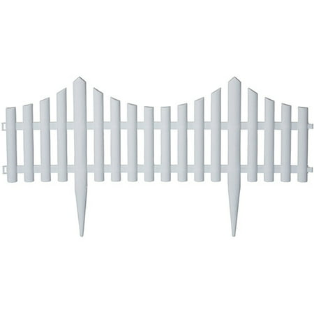 Emsco Group 16 Picket Fence Decorative Fencing