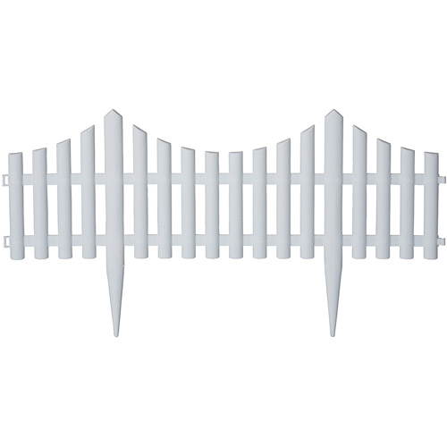 Emsco Group 16u0027 Picket Fence Decorative Fencing