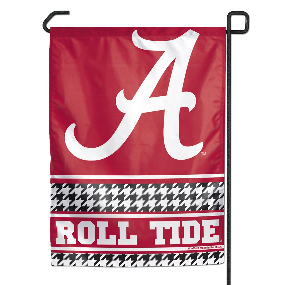 Alabama Crimson Tide Official NCAA 11 inch x 15 inch Garden Flag
