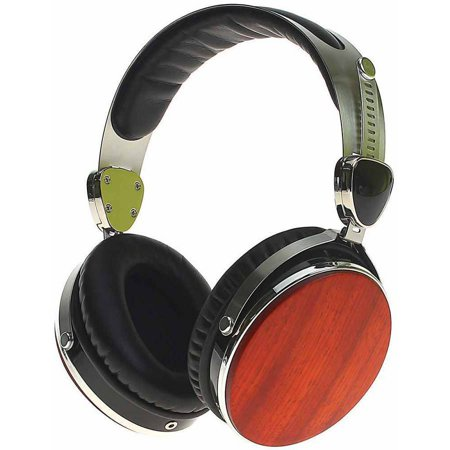 Cherry Headphone - Symphonized Wraith 2.0 Premium Genuine Wood Headphones with Mic