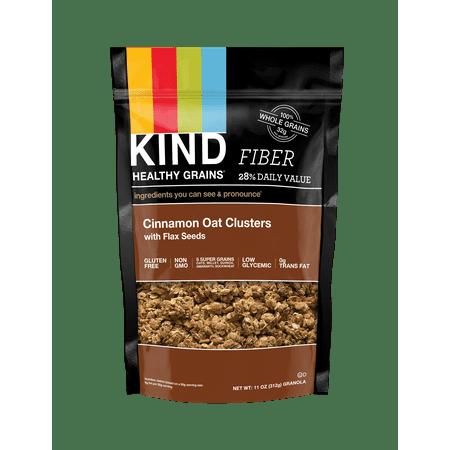 Cinnamon Crunch Granola - KIND Gluten Free Breakfast Granola, Cinnamon Oat & Flax, 11 oz