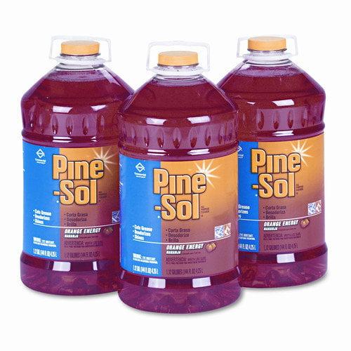 PINE-SOL All-Purpose Cleaner, Orange Scent, Set of 3