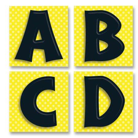 Carson-Dellosa Publishing Quick Stick Letters Set, 45 Pieces, Black (Quick Brick)