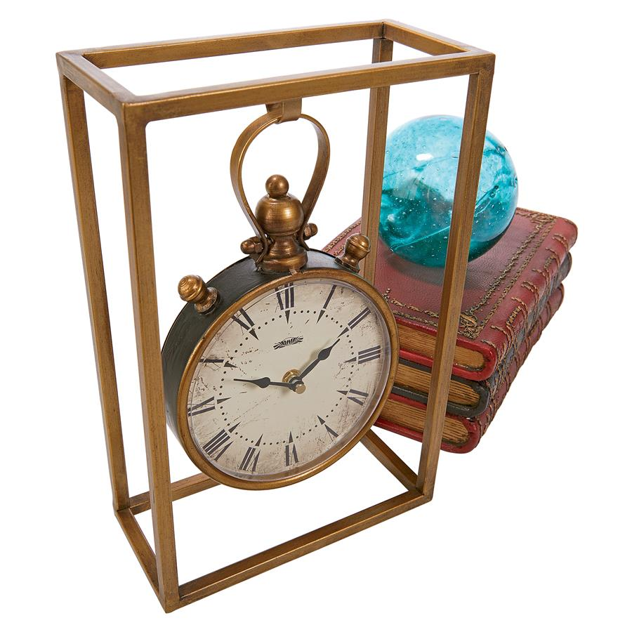 Industrial Age Mantel Clock