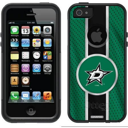 Dallas Stars Jersey Stripe Design on OtterBox Commuter Series Case for Apple iPhone 5/5s Dallas Stars Jersey Case