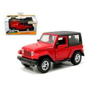 2014 Jeep Wrangler Red 1/32 Diecast Model Car by Jada