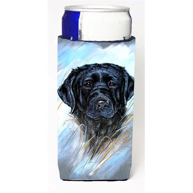 Black Labrador Michelob Ultra bottle sleeve for Slim Can