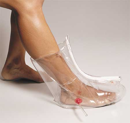 First Aid Only M5086 Foot and Ankle Air Splint, Clear