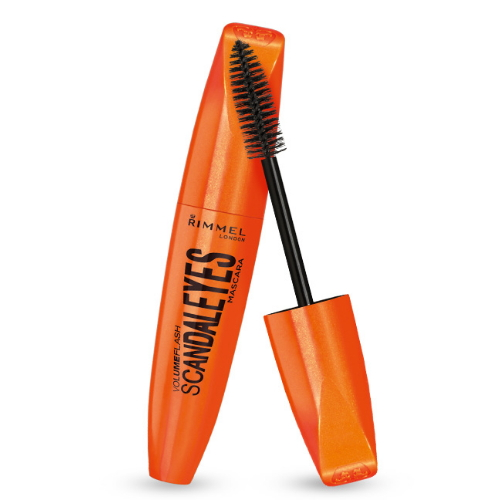 (6 Pack) RIMMEL LONDON Scandaleyes VolumeFlash Mascara + Bonus Eyeliner - Extreme Black