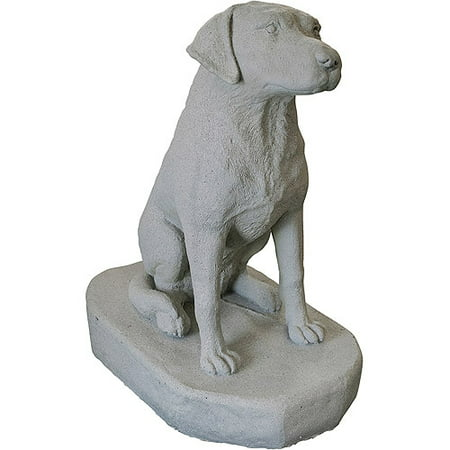 Emsco Group Sitting Labrador Resin Construction Statuary