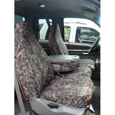 Covercraft SeatSaver Second Row Custom Fit Seat Cover for Select Ram 1500 Models - True Timber Polyester (Conceal