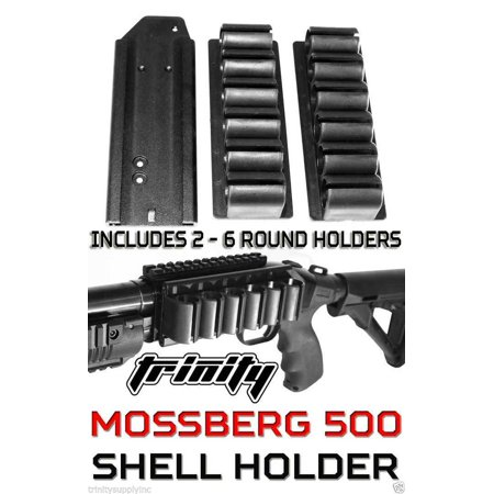 Mossberg 500 590 Side Saddle Tactical Shotgun Shell Holder.