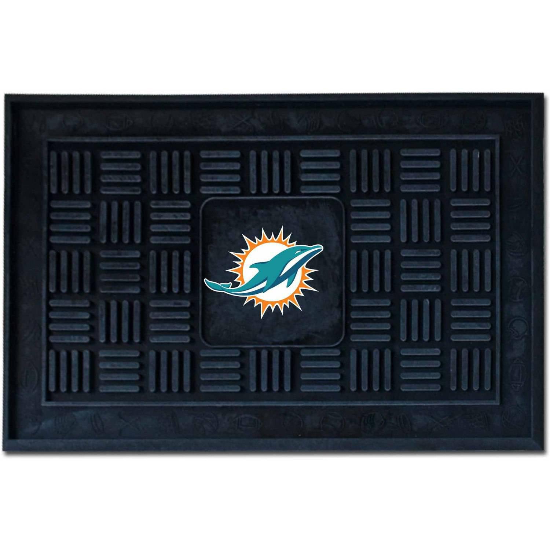 NFL Miami Dolphins Medallion Door Mat
