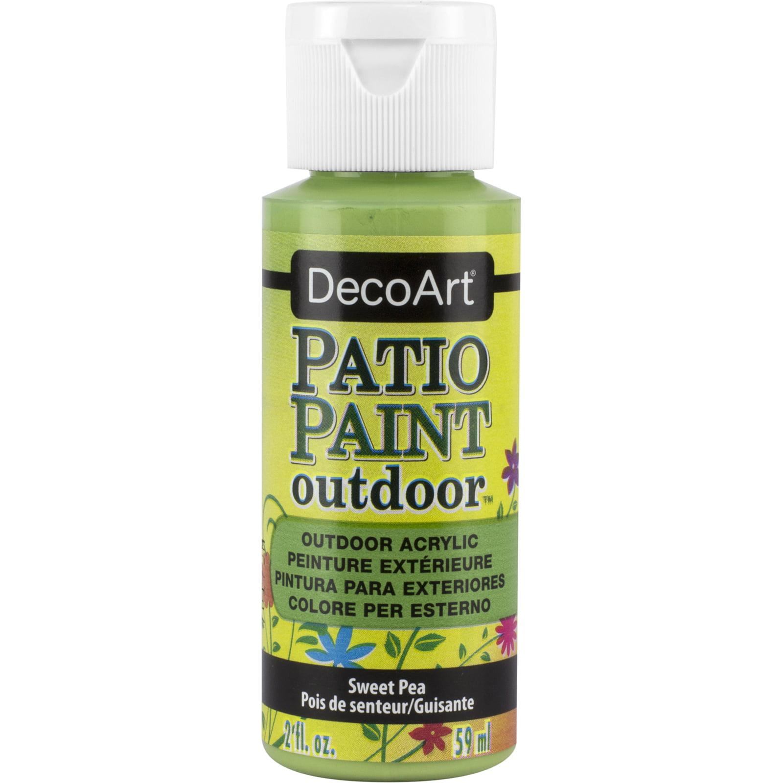 Decoart Patio Paint 2 Oz Sweet Pea Walmart Com Walmart Com