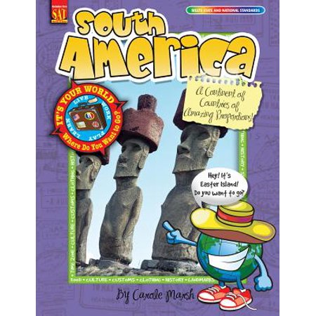 South America : A Continent of Countries of Amazing (List Of Countries In The World Continent Wise)