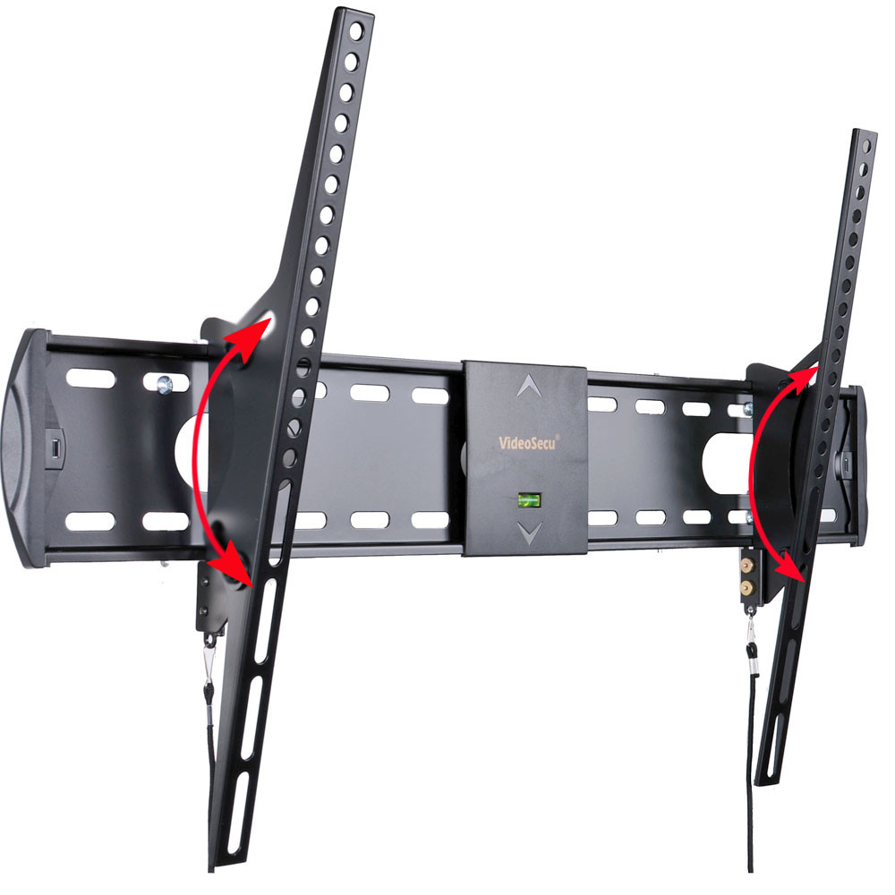 "VideoSecu Tilt TV Wall Mount for most 32 39 40 42 43 46 47 50 55"" LED LCD Plasma Flat Panel Screen Display Bracket BG2"