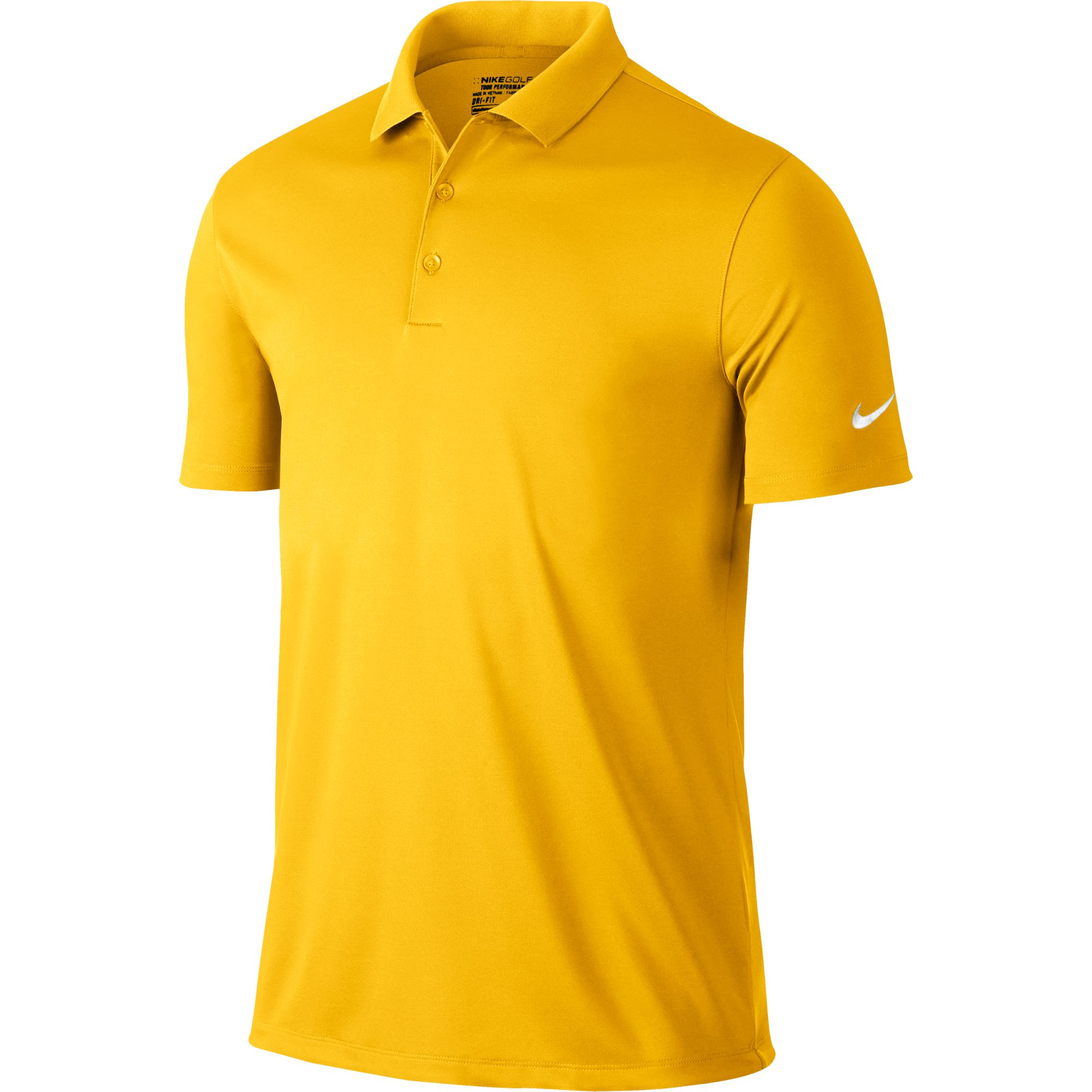 Nike Golf Victory Solid Polo (Amarillo) (Small)