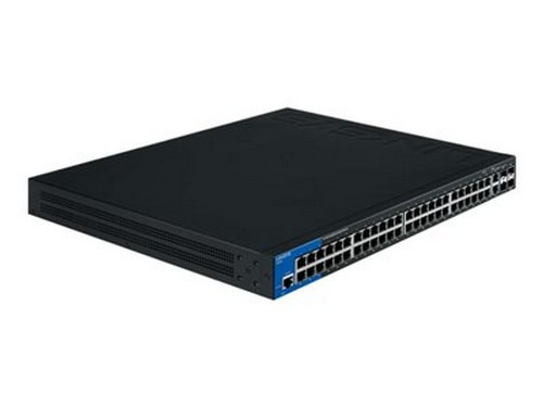Linksys Lgs552 Switch 52 Ports Managed Rack-mountable by Linksys