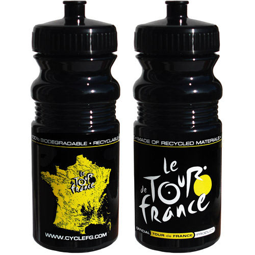 Tour de France, Tour de Jour Series 20-oz. Water Bottle, Black