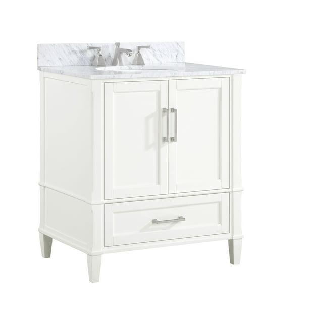Bemma Montauk 30 Inch Single Bathroom Vanity Set Walmart Com Walmart Com