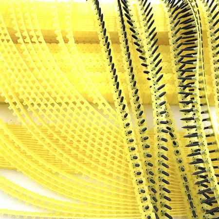 20pcs chaîne vide sans ongles accessoires automatiques de machine à clous de chaîne de 54 trous chaque ceinture - image 7 of 7