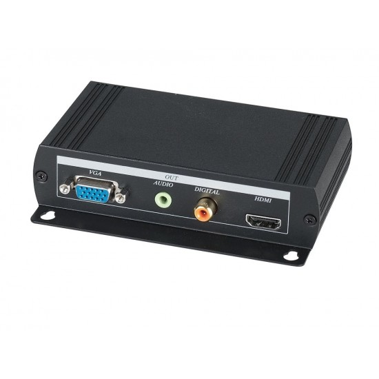 VGA to HDMI Converter with Local loop VGA output