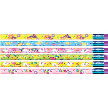 Moon Products, MPD52024B, Springtime Easter Design Pencils, 12 / Dozen