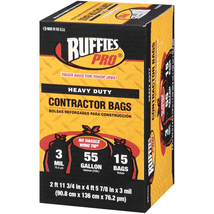 Trash Bags: Ruffies Pro Contractor