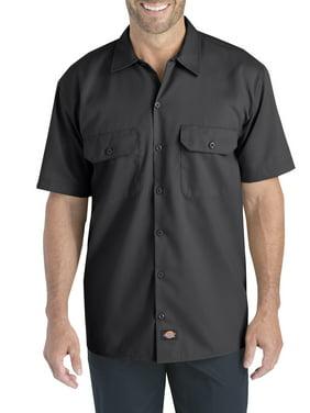 Dickies Men's and Big Men's Short Sleeve Flex Twill Shirt