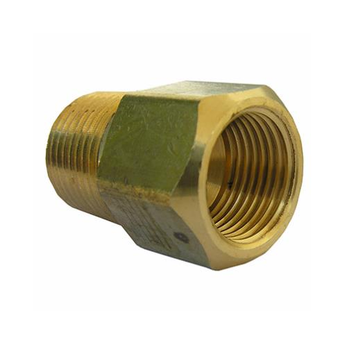 LASCO 17-7711 1//4-Inch Male Pipe Thread by 3//16-Inch Hose Barb Brass Adapter