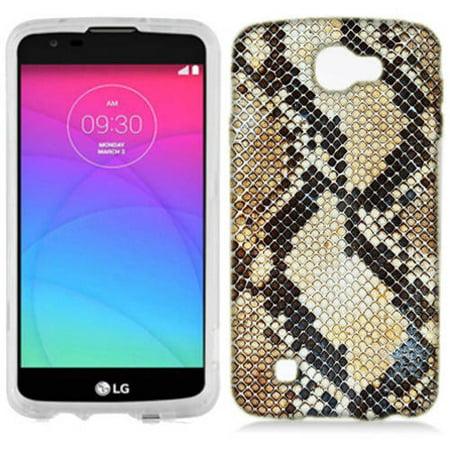 Mundaze Snake Skin Phone Case Cover for LG Zone 3 Spree (Snake Card Case)