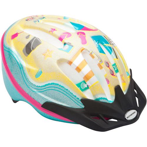 Schwinn Bastion Girls' Bicycle Helmet, Beach, Child