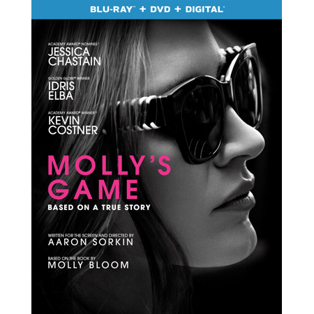 Molly's Game (Blu-ray + DVD + Digital)